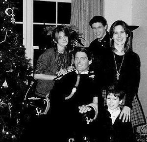 Chris and Family at Christmas