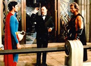 Lex introduces Superman to Nuclear Man