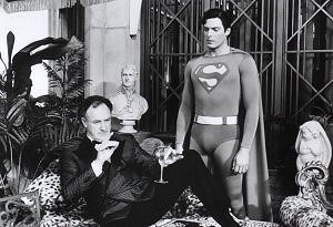 Superman confronts Lex Luthor